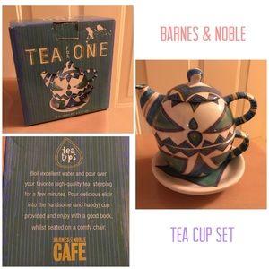 Barnes & Noble tea cup set gift